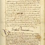 Agatha-Gelübde vom 5.2.1665