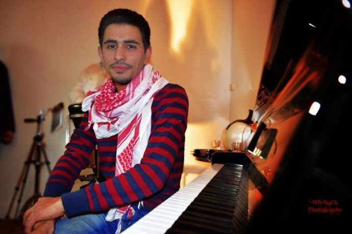 pianist - Schriftsteller aeham ahmad