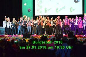 Bürgerball 2018 der Bürgergesellschaft 1898 Olpe e. V. @ Stadthalle Olpe | Olpe | Germany