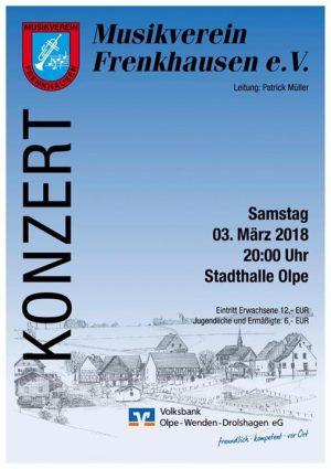 Konzert 2018 - Musikverein Frenkhausen @ Stadthalle Olpe | Olpe | Germany