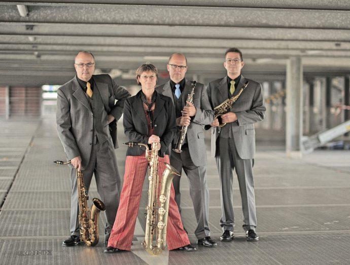 Kokopelli-Saxophon-Quartett - Stadthalle Olpe