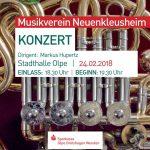 Konzert des Musikvereins Neuenkleusheim in der Stadthalle Olpe