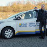 Ein neuer elektromobiler Botschafter an der Bigge