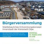 Einladung zur Bürgerversammlung am 19.03.2018
