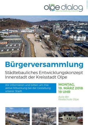 Bürgerversammlung Städtebauliches Entwicklungskonzept Innenstadt