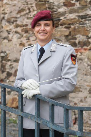 Musikkorps Koblenz - Leiterin Alexandra Schnütz-Knospe