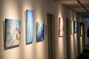 "Vernissage ""art casual"" Sparkassen-Galerie"