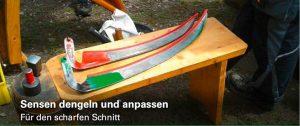 Sensen dengeln und anpassen - Für den scharfen Schnitt @ Olpe | Olpe | Germany