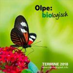 Olpe biologisch - Veranstaltungsprogramm 2018