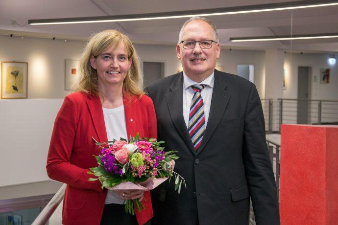 Sparkasse Olpe Jubiläum 25 Jahre Petra Klör