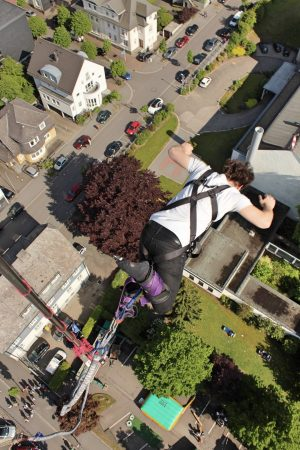 Bungee Jumping - Stadtfest Olpe