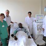 Simbabwer im Olper Krankenhaus behandelt