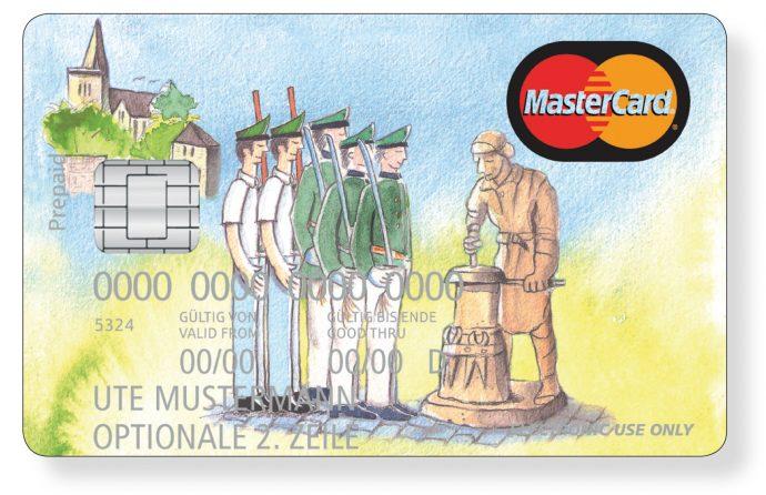 Kreditkarte mit Olper Motiv - Ümmerich