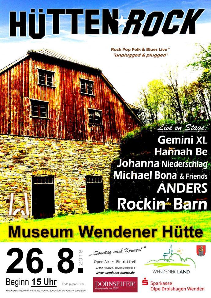 Hüttenrock 2018 - Wendener Hütte