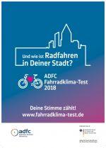 Fahrradklima-Test 2018 ADFC