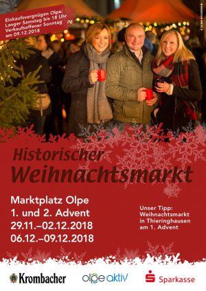 Plakat-Weihnachtsmarkt 2018 Olpe