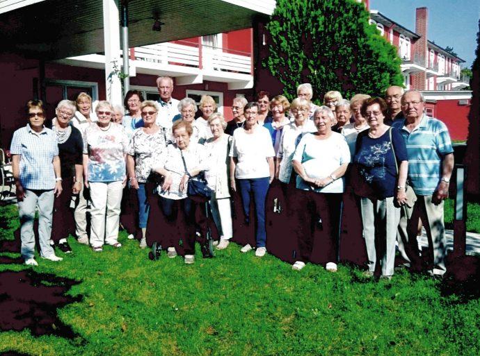 Gruppenfoto - AWO - Reise Kreis Olpe
