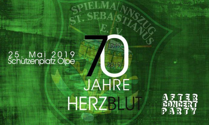 Jubilaeumskonzert 2019 - Spielmannszug Olpe