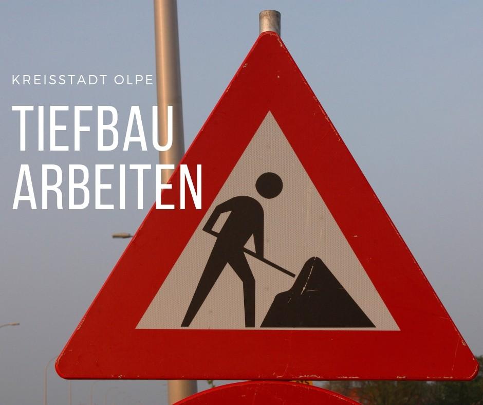 Bauarbeiten Felmicke, Frankfurter-  und Agathastraße