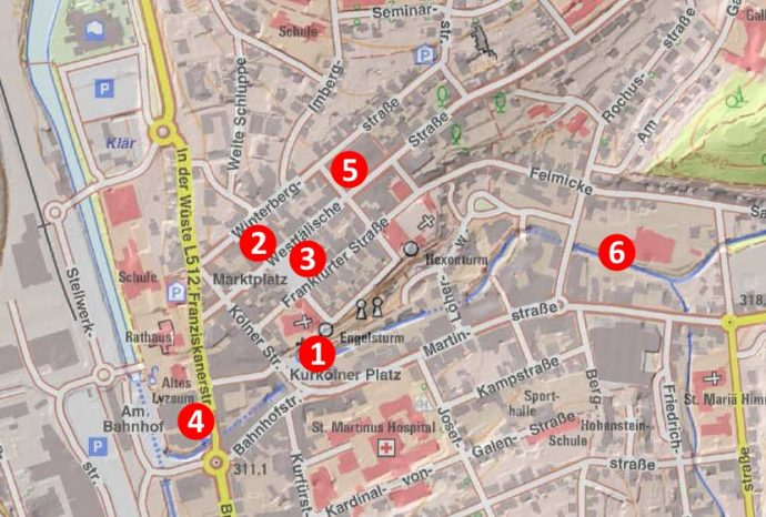 Neue Fahrradständer - Stadtgebiet Olpe