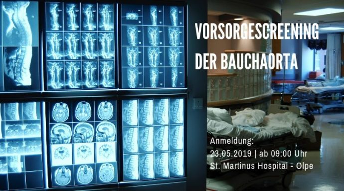 Vorsorgescreening der Bauchaorta - St-Martinus-Hospital