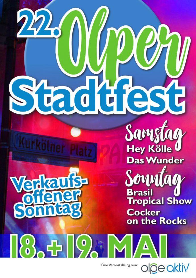 Stadfest Olpe 2019