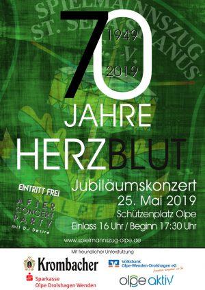 Jubiläumskonzert Spielmannszug Olpe 2019
