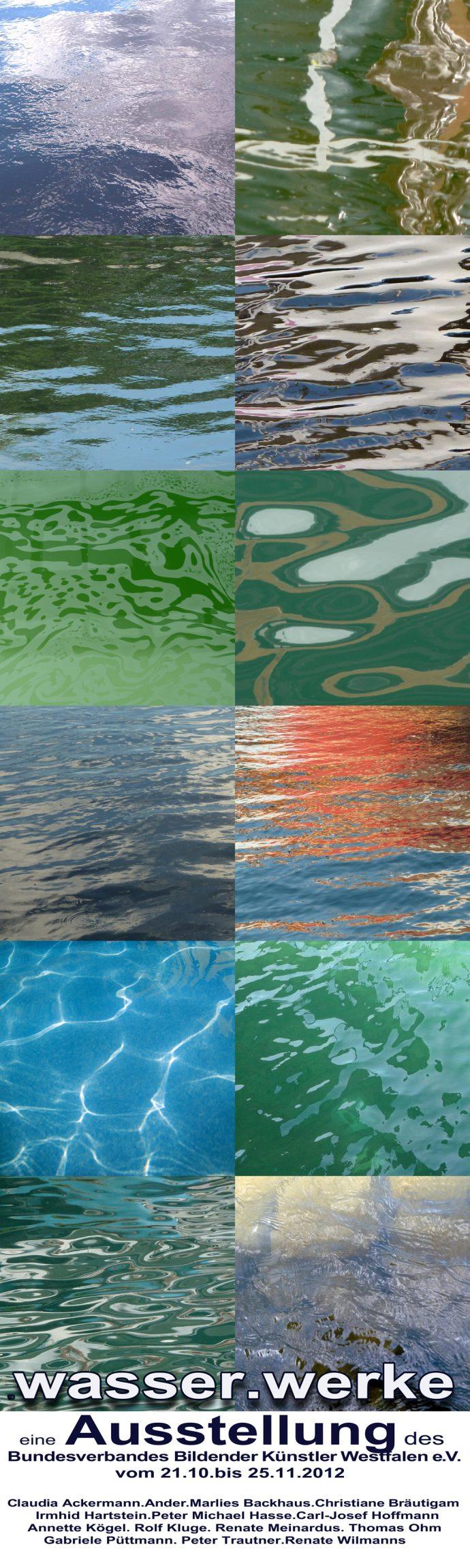 Ausstellung Wendener Hütte - Wasser