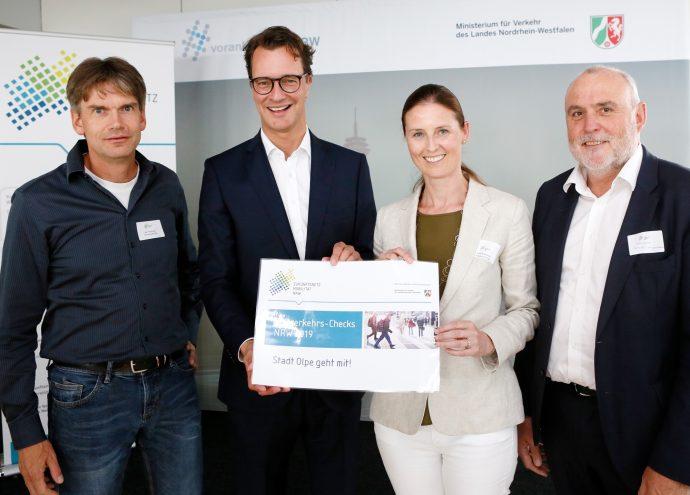 Fußverkehrs-Check 2019 - Kreisstadt Olpe