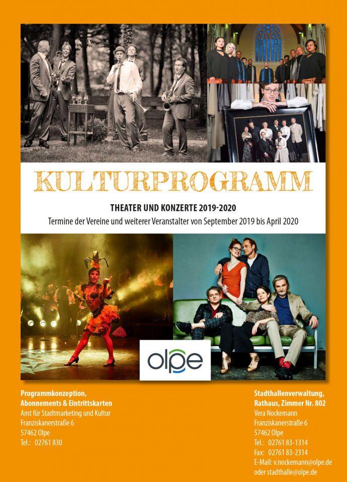 Kulturprogramm Olpe 2019/20