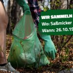 Müllsammelaktion Grüne Jugend Kreis Olpe