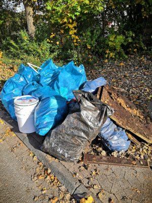 Müllsammelaktion der Grünen Jugend - Kreis Olpe
