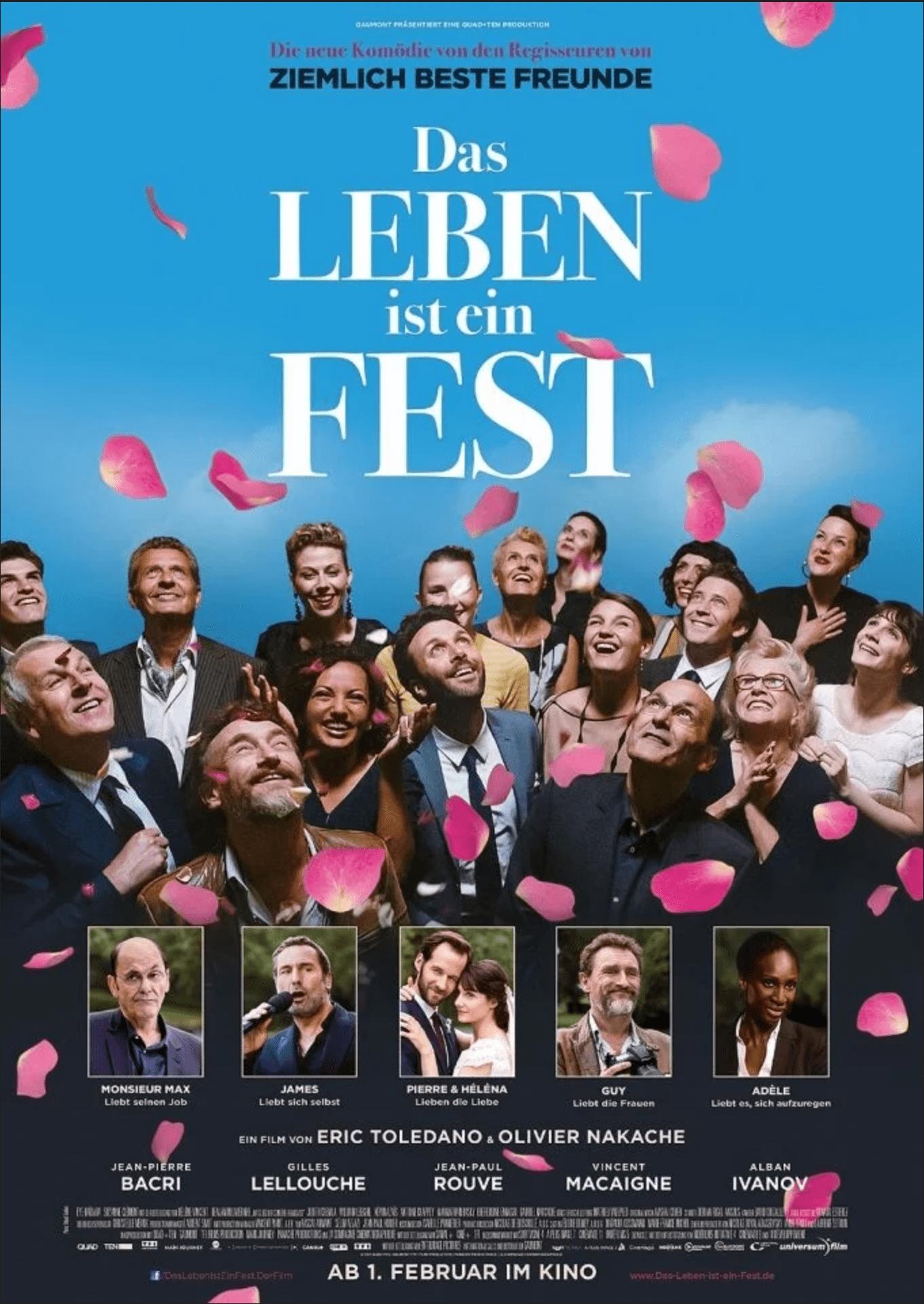 """Film Café zeigt """"Das Leben ist ein Fest"""" am 19.12.19"""