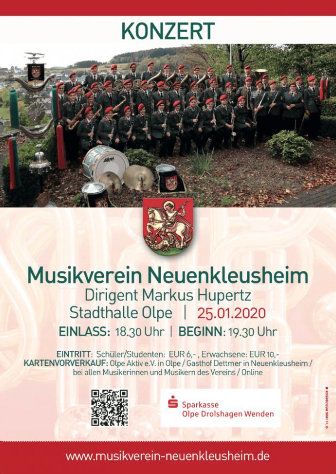 Jahreskonzert 2020  - Musikverein-Neuenkluesheim