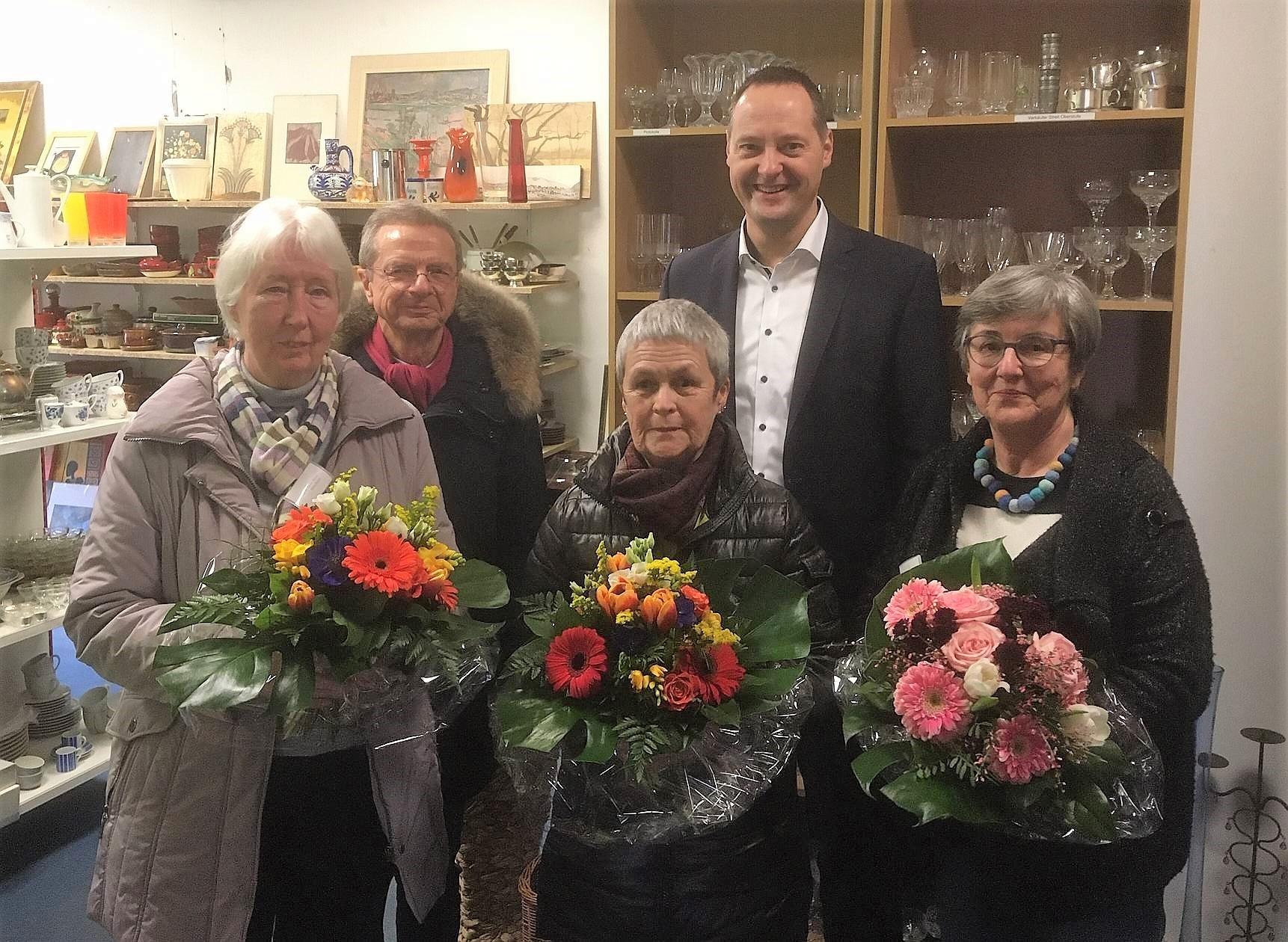 Die Stadt Olpe bedankt sich bei Marie-Luise Hesse für ihr ehrenamtliches Engagement