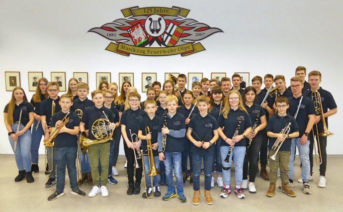 Jugendorchester des Musikzugs der freiwiligen Feuerwehr Olpe