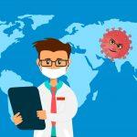 Angst vor Virus Infektion