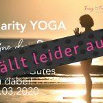 Yoga tut gutes fällt aus -19.03.2020