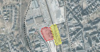 Abgrenzung Wettbewerbsgebiet Ideenwettbewerb - Olpe - Neues Rathaus