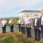 Corona-Konzert - Musikkorps der Bundeswehr hat das St. Martinus-Hospital