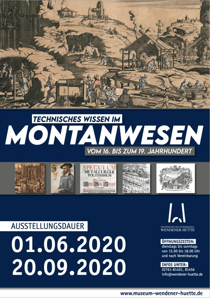 Sonderausstellung Montanwesen - Wendener Hütte 2020