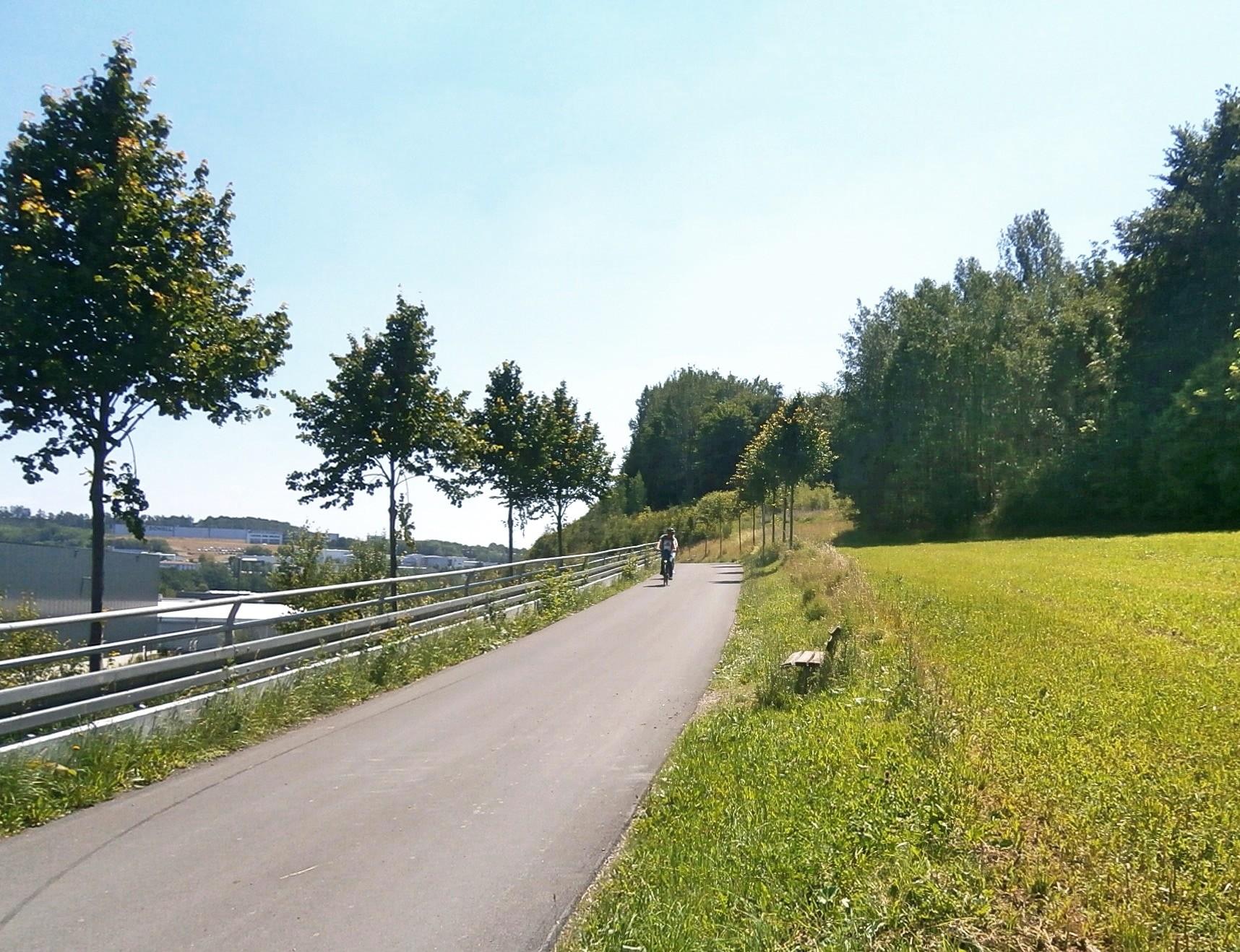Ausbau des Radweges von Rüblinghausen nach Gerlingen