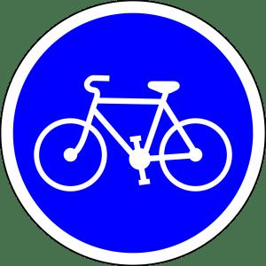 Radweg - Schild