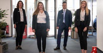 Auszubildungsstart 2020 - Sparkasse Olpe-Drolshagen-Wenden