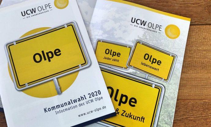 UCW Olpe - Kommunalwahl 2020 Olpe