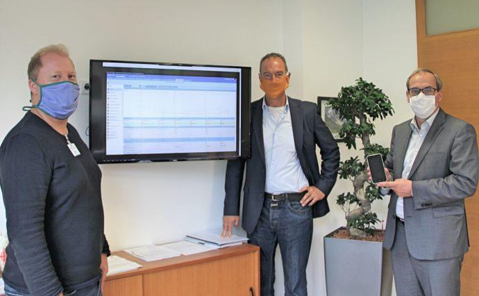 Digitalisierung im Krankenhaus Olpe - Besuch Hr. Ritter, MdL