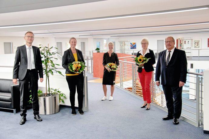 Sparkasse Dienstjubiläum August 2020