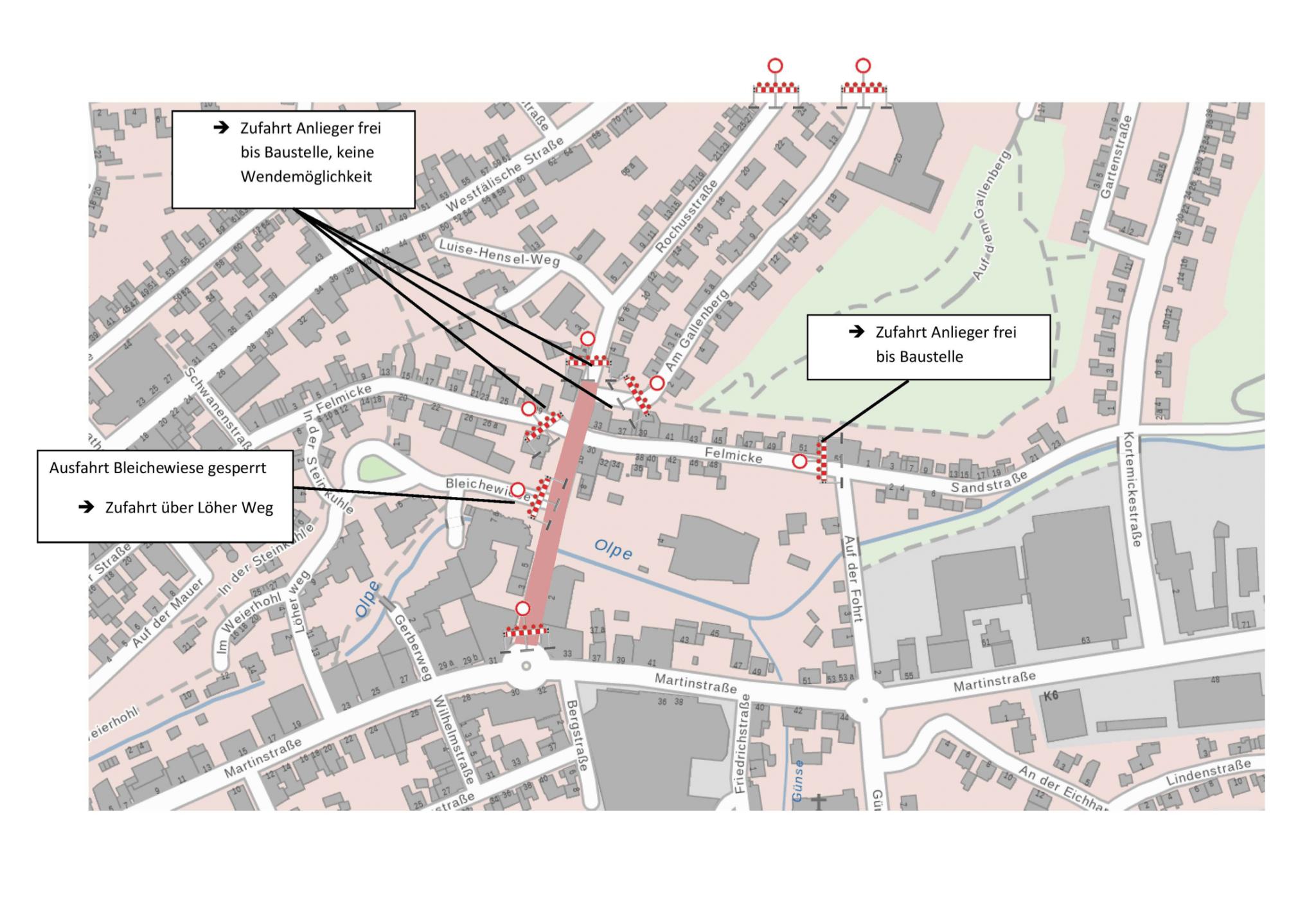 Fertigstellung der Pannenklöpperstraße erfolgt bis Ende November