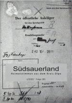 Heimatstimmen - Kreisheimatbund Olpe