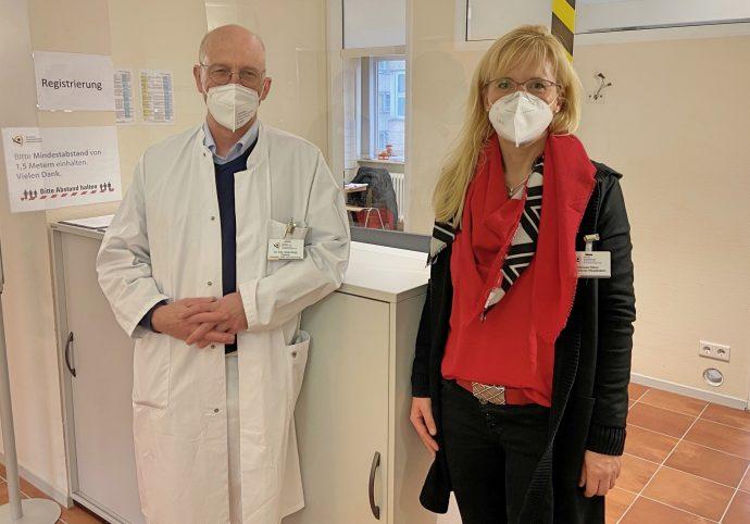 Impfstart am St. Martinus-Hospital Olpe
